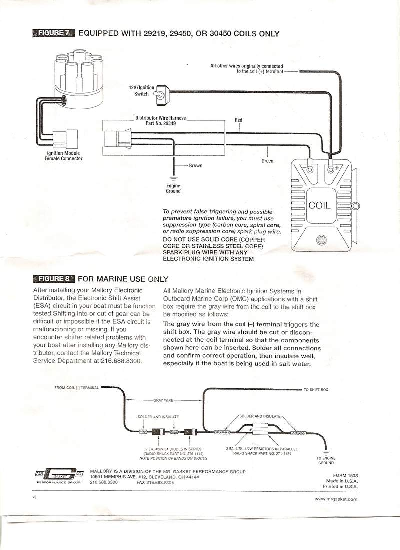 medium resolution of mallory promaster coil and distributor wiring diagram mallory coil magnido mallory distributor identification