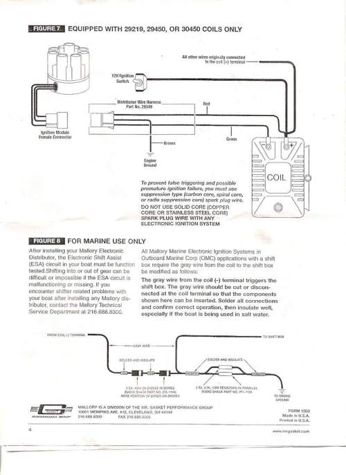 small resolution of mallory promaster coil and distributor wiring diagram mallory coil magnido mallory distributor identification