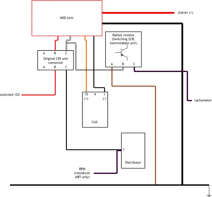 msd blaster 2 wiring diagram fender 5 way switch advice (connectors) - page pelican parts technical bbs