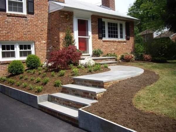 landscaping ideas split level
