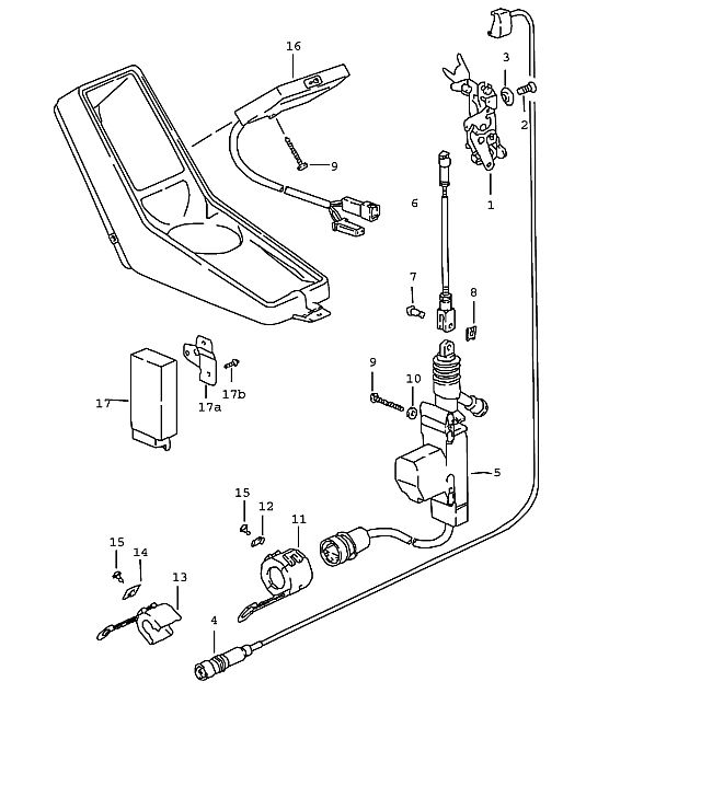 Ford fiesta door lock mechanism diagram