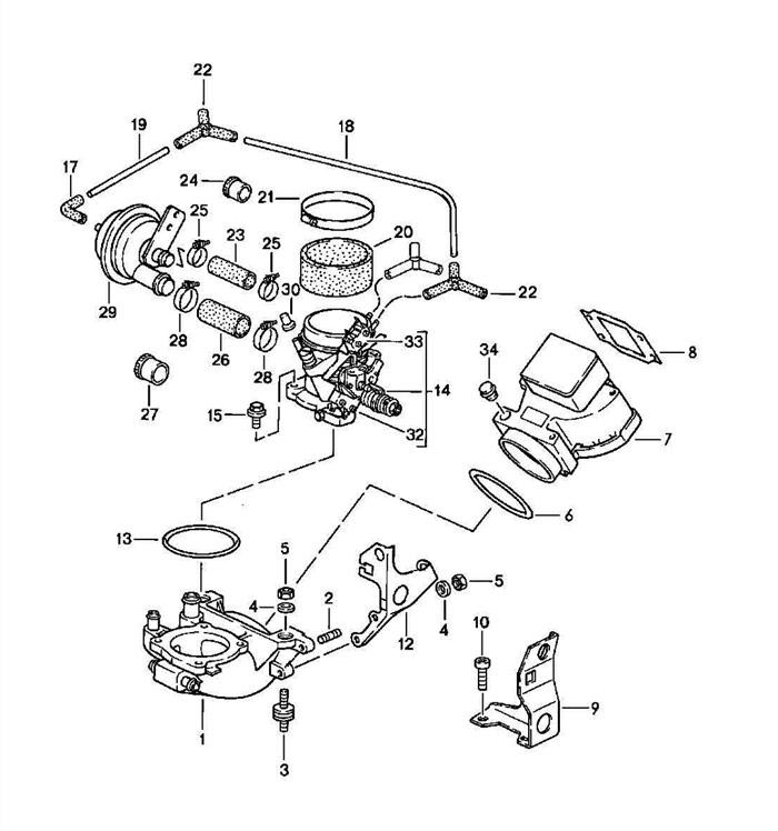 1982 Porsche 928 Vacuum Diagram. Porsche. Auto Wiring Diagram