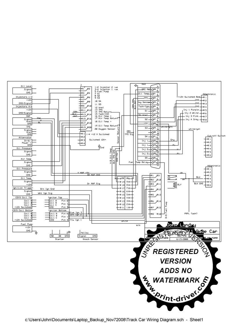 race car alternator wiring diagram genie pro garage door opener 4 wire schematic library re the racecar kit or custom pelican parts forums