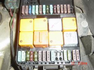 1987 32 fuse diagram  Pelican Parts Forums
