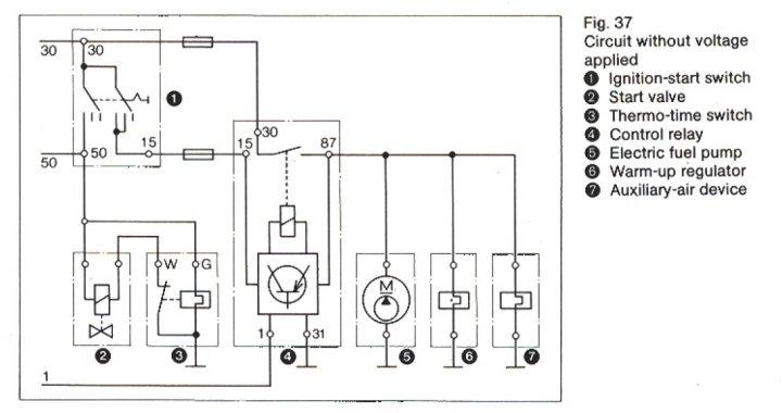 porsche 914 fuse panel diagram