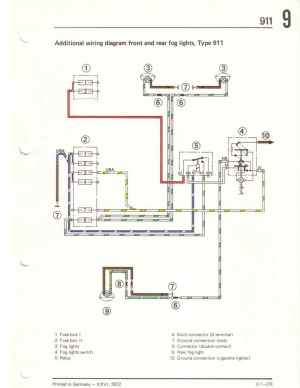 73 Foglight switchhow do you wire it?  Pelican Parts