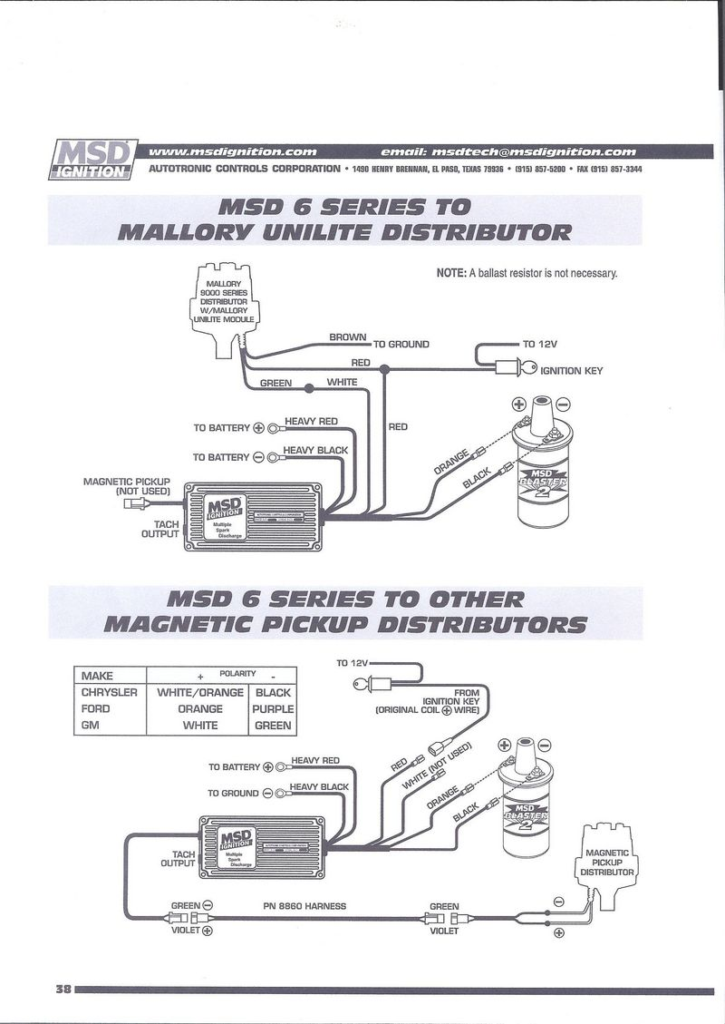 hight resolution of mallory distributor wiring diagram unilite solidfonts 914world com where to msd wiring diagram mallory