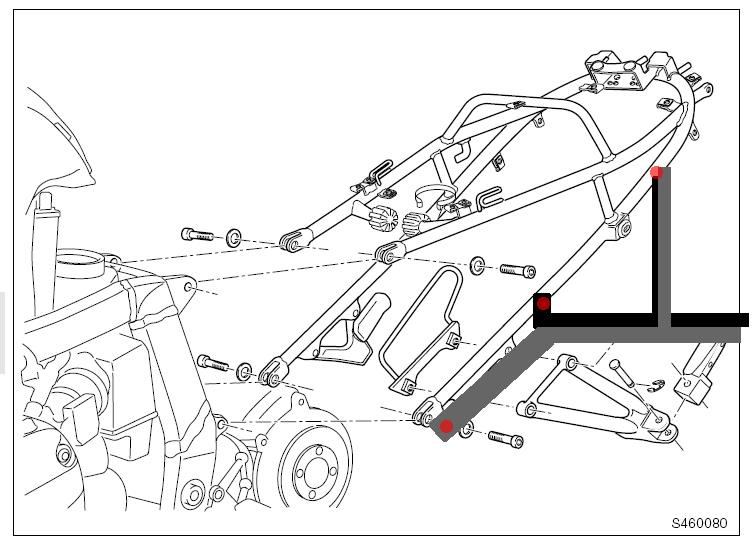 Bicycle rack design help (aka R1100S Technical drawing