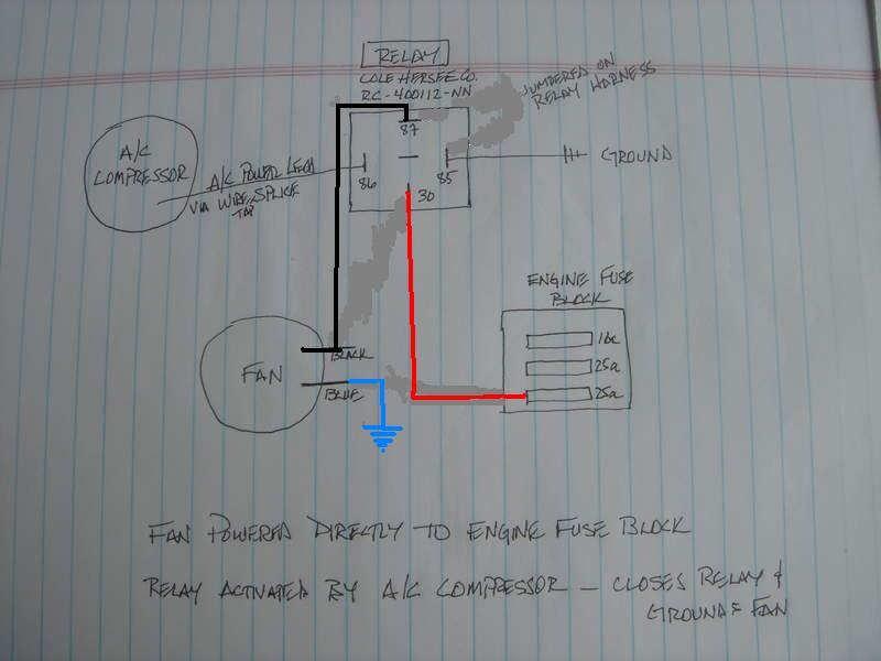 ge wiring diagram refrigerator vlan design rear condenser fan wiring/relay help - pelican parts forums
