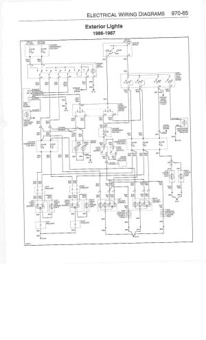 Help: Wiring diagram for a 1986 911 Carrera  Pelican