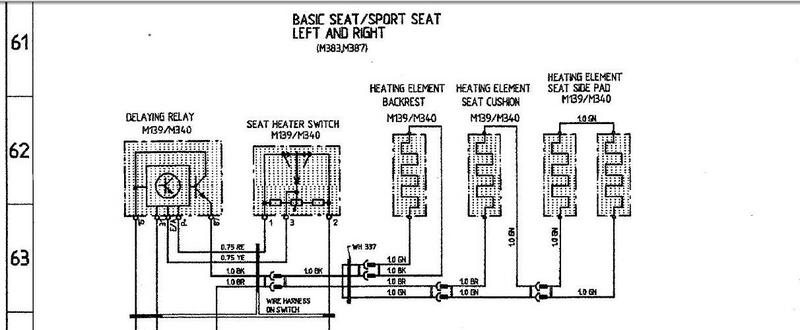 rover 75 heated seat wiring diagram
