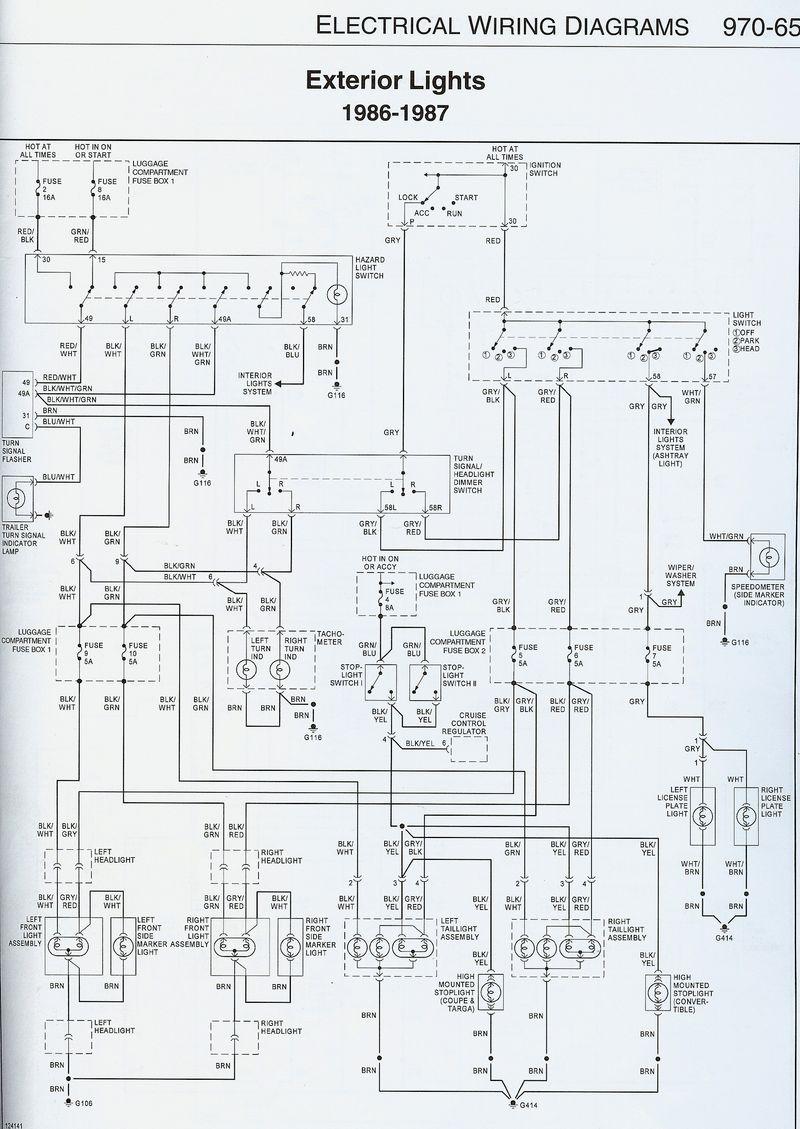 hight resolution of 1987 911 headlight wiring issue pelican parts forums gerry porsche 911 fog light wiring diagram