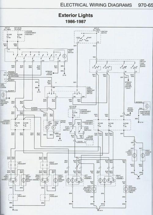 small resolution of 1987 911 headlight wiring issue pelican parts forums gerry porsche 911 fog light wiring diagram
