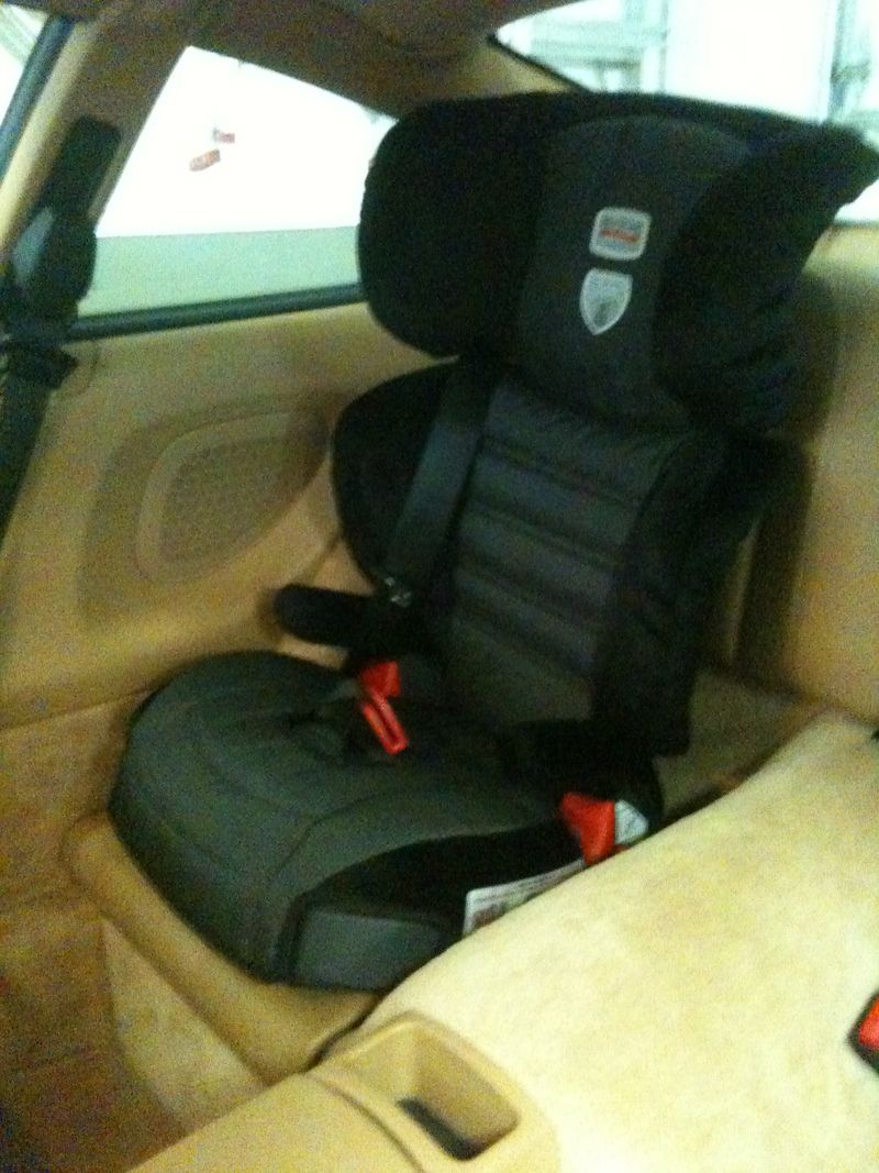 A bit different child booster seat in 911  Pelican Parts