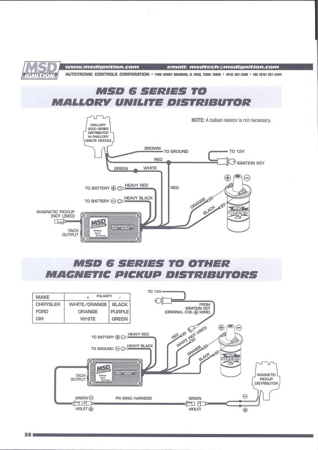 msd 6al wiring diagram lt1 2000 isuzu npr fuel pump pdf chevy ignition get free image about