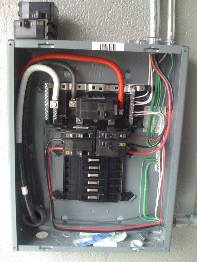 Switch Wiring Diagram On 100 Amp Detached Sub Panel Wiring Diagram