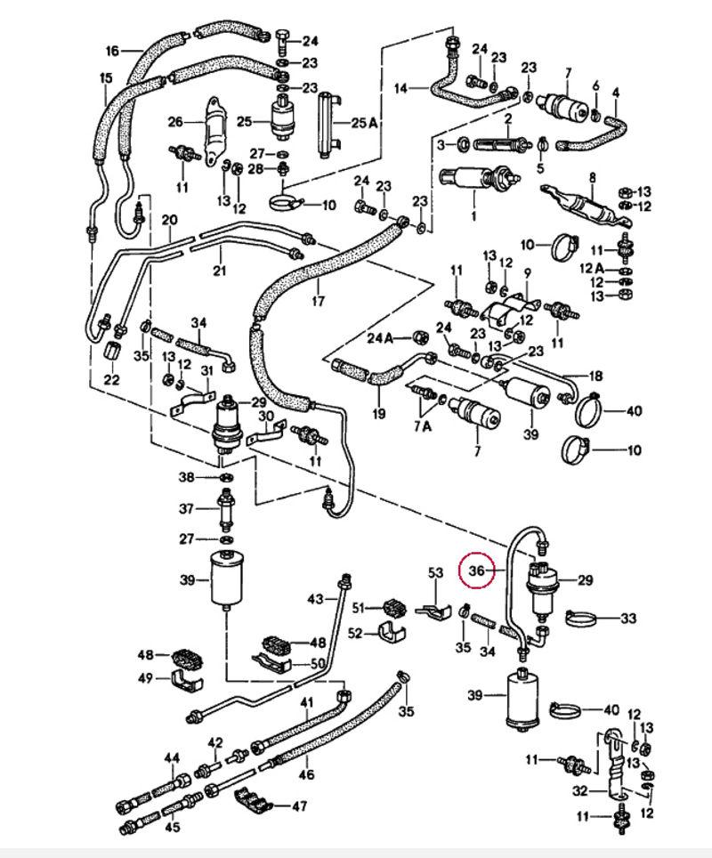 Zone Fuse Auto Diagram Box Porsche Carrera 1999