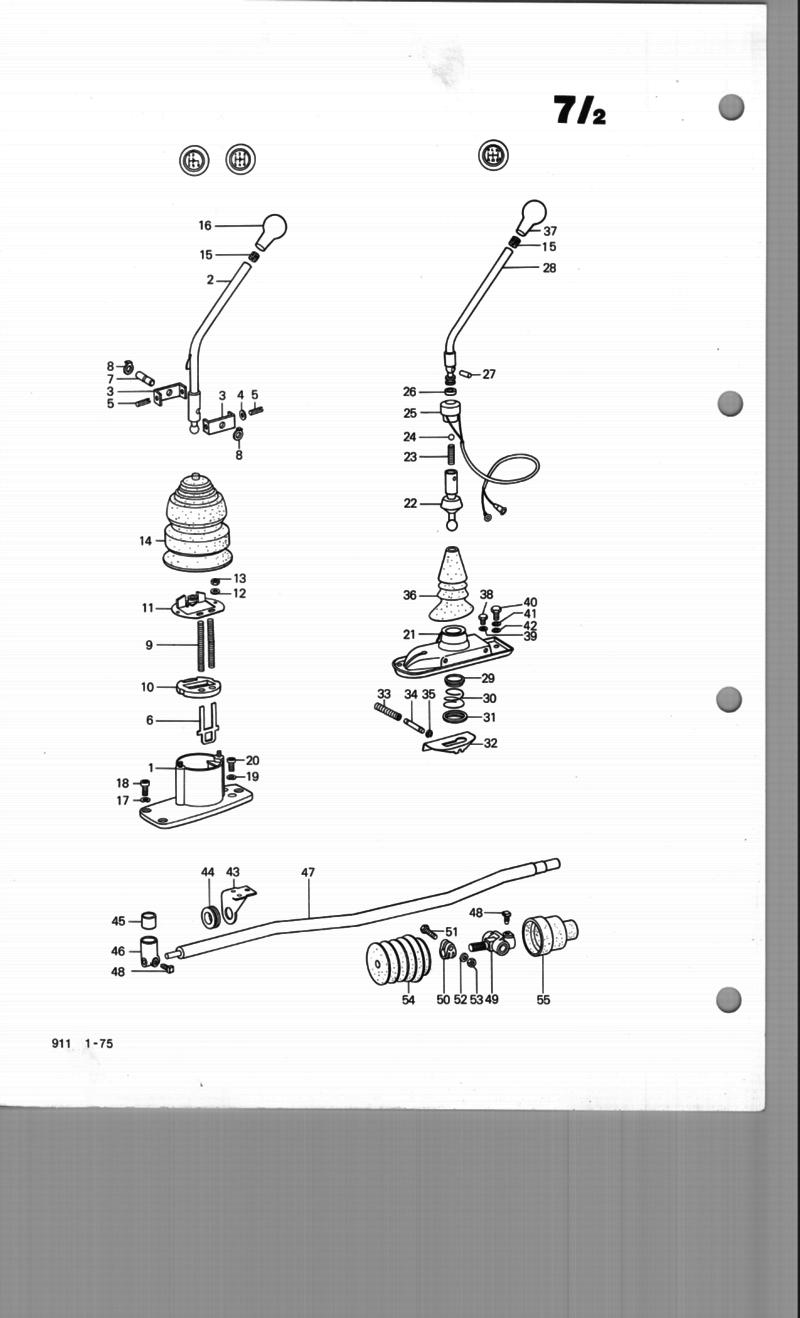 Service manual [How To Adjust Transmission Linkage 1991
