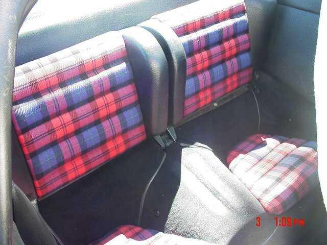 Replacing Tartan Plaid Seat Fabric Pelican Parts Forums