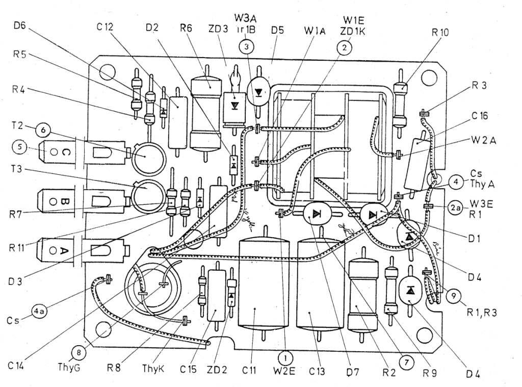1976 porsche 911 wiring diagram homeline breaker box history of bosch cdi ... toubleshooting info, parts list changes, and schematics - pelican
