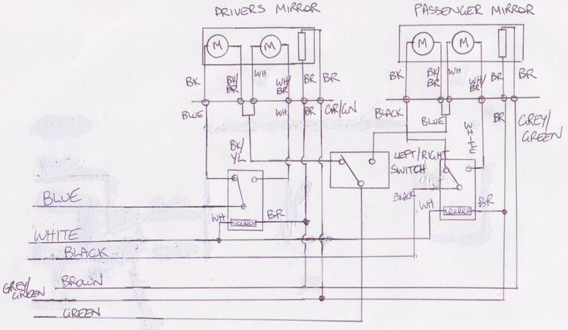 WTB.Electric Wiring Module for Aero Mirrors 911 78-86 1pr