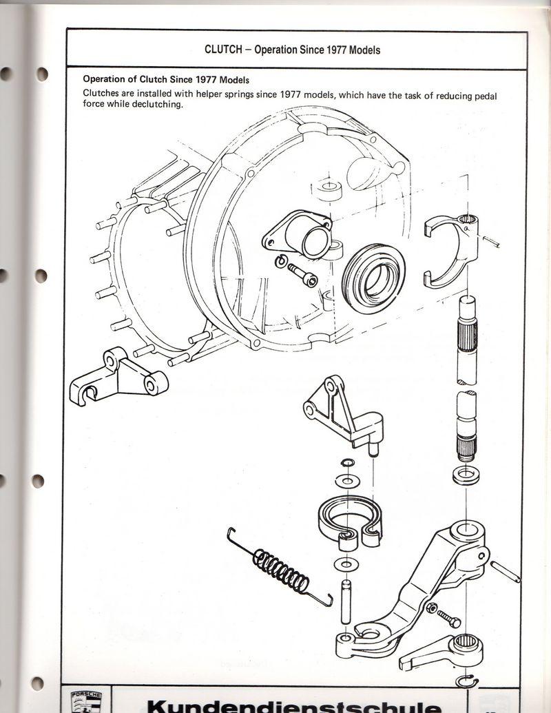 Porsche 911/Turbo service school manual vehicle