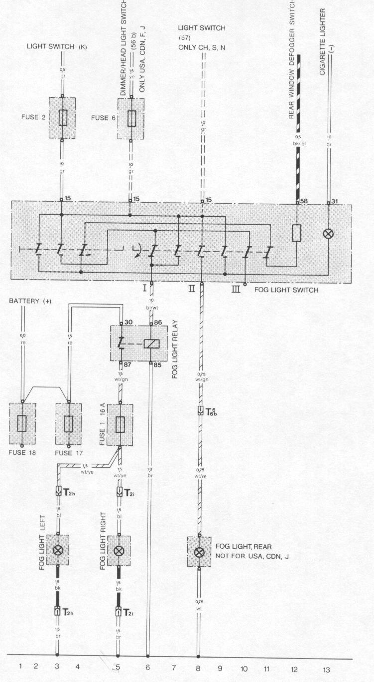 hight resolution of 1990 porsche 911 wiring diagram