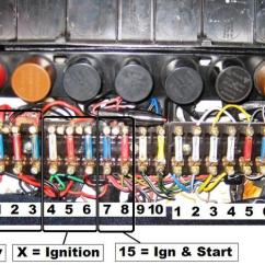 14 Pin Relay Wiring Diagram Tongue Worksheet Source Of Switched 12v In The Front Fuse Block? - Pelican Parts Technical Bbs