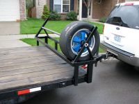 Trailer Tire Racks - Lovequilts