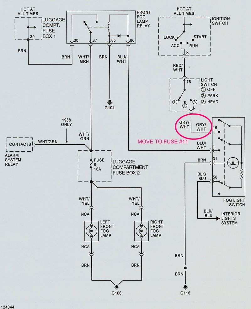 medium resolution of fog lights not working pelican parts forumsporsche fog lights wiring diagram 1