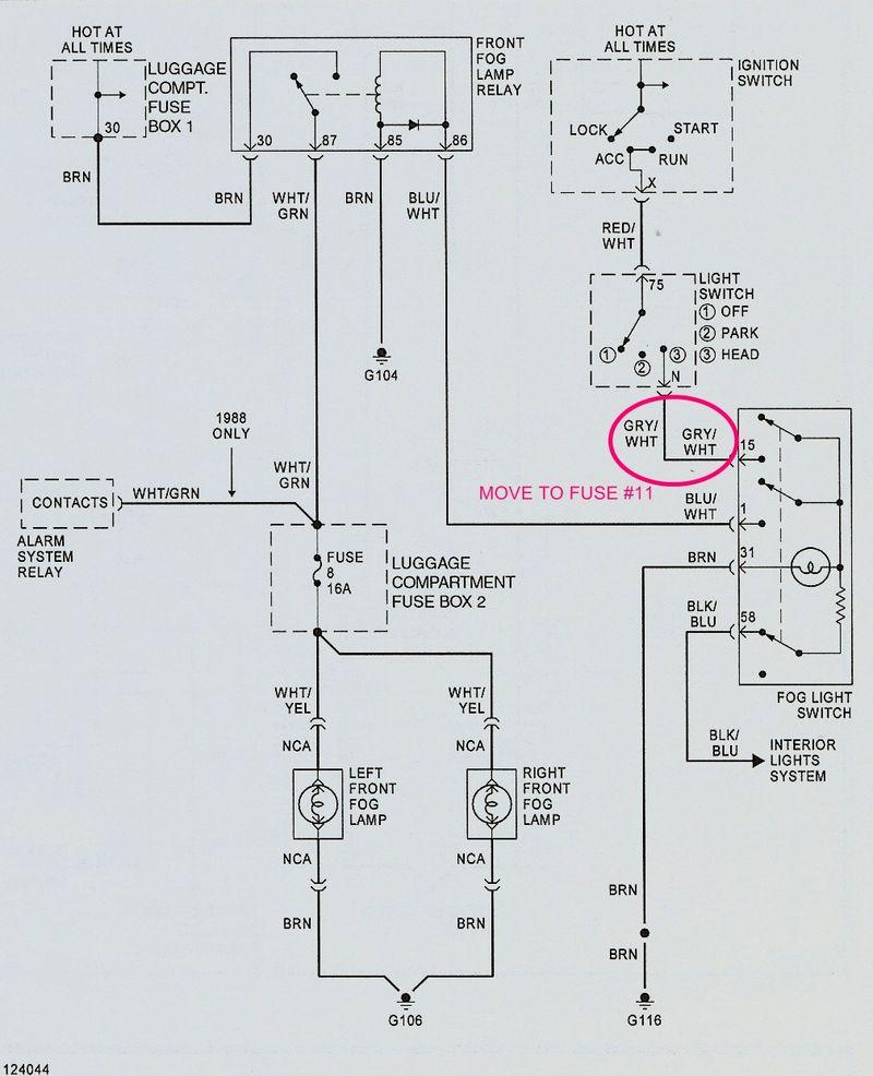 hight resolution of fog lights not working pelican parts forumsporsche fog lights wiring diagram 1