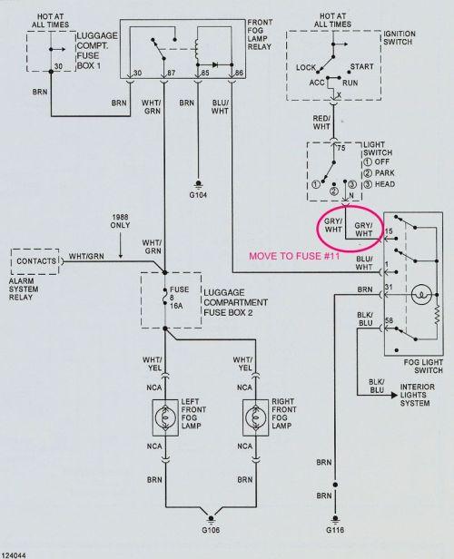 small resolution of fog lights not working pelican parts forumsporsche fog lights wiring diagram 1