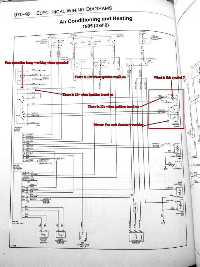 garage wiring diagram honeywell aquastat l4006a 'fresh air blower fan' stopped working - pelican parts forums