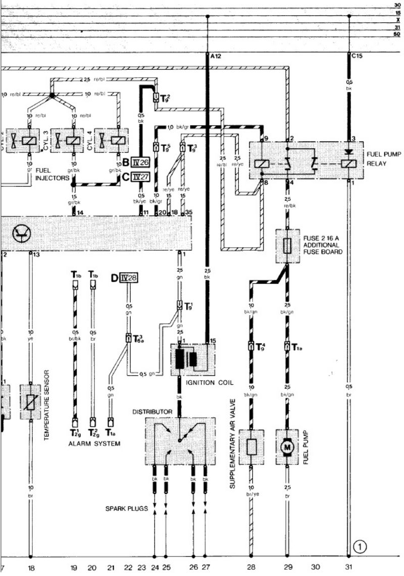 medium resolution of 1986 porsche 944 ignition wiring diagram wiring diagram detailed porsche 944 for electrical diagrams 1986 porsche 944 ignition wiring diagram