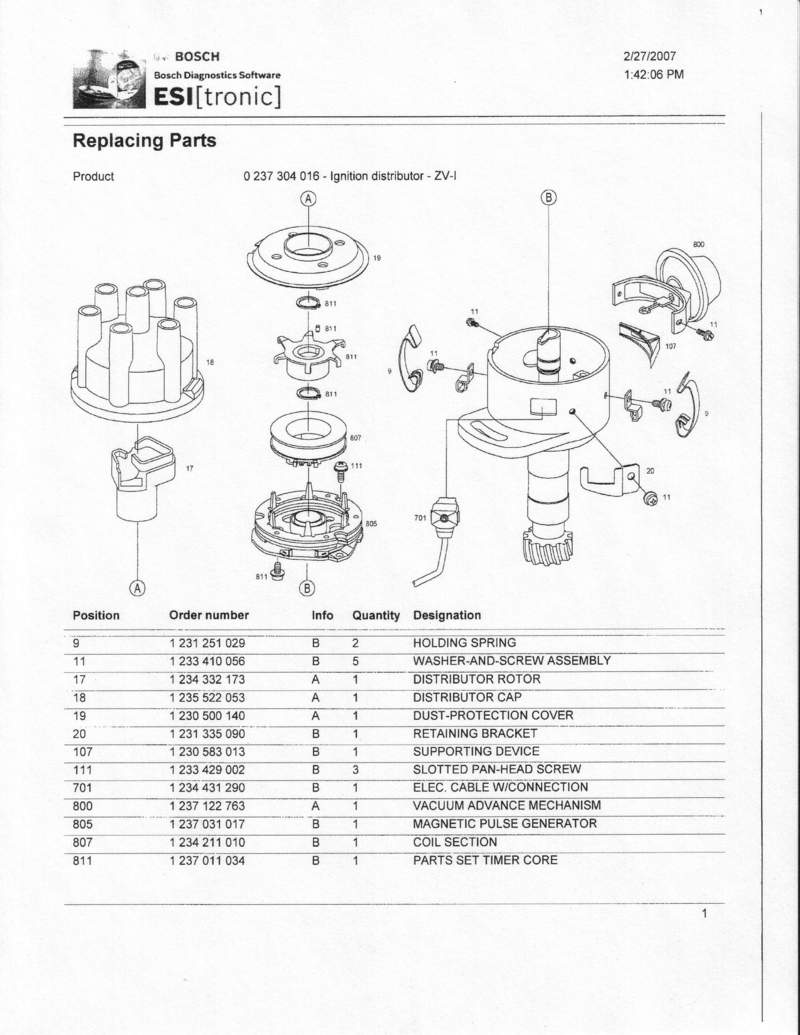 Vacuum Advance Distributor Diagram - ac vacume source