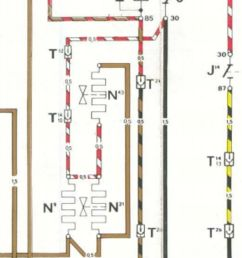 so here is the relevant part of the car wiring schematic g6 is the fuel pump the hot wire comes from pin 30 on the relay j16  [ 800 x 2392 Pixel ]