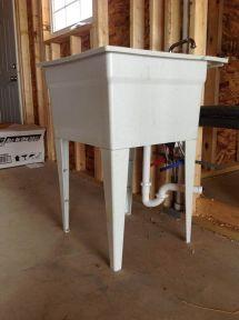 Garage Utility Sink Plumbing