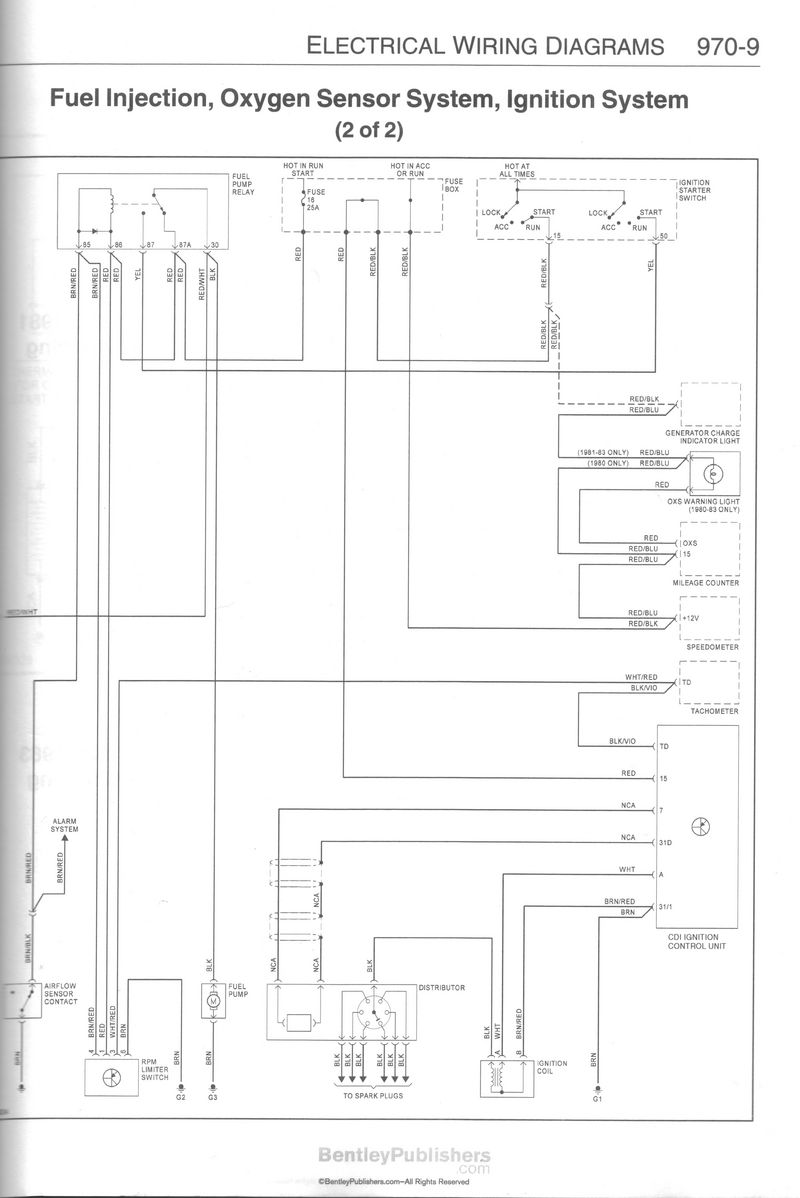 hight resolution of island check the bentley on page 970 9 there is another reference to the two wires from the tachometer