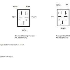 5 Pin Power Window Switch Wiring Diagram Telecaster 3 Way Tele Wire '81 911sc Passenger - Pelican Parts Forums