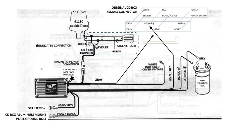 Msd 8950 Wiring Diagram Chevy Ignition Switch Wiring
