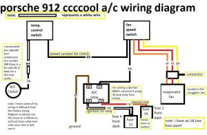 1976 912e need air conditioning ac wiring help  Pelican