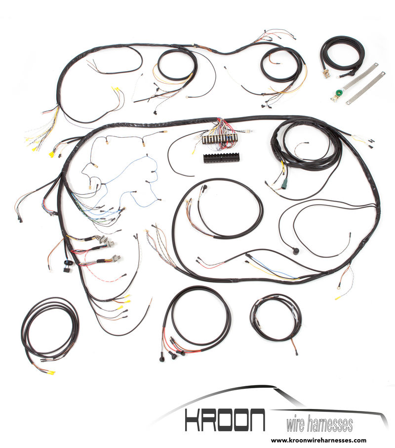 Porsche Wiring Harness Tape: Wire harness ignition switch