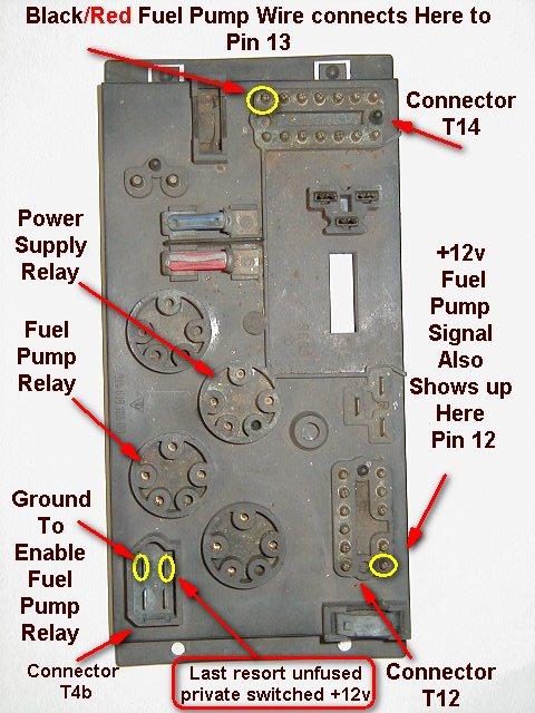 2000 Porsche Boxster Fuel Pump Relay Location Wiring Diagram Photos