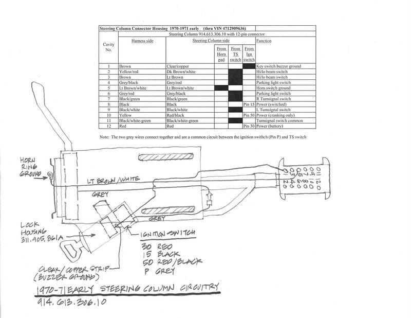 Porsche 914 Ignition Switch Wiring Diagram. Porsche