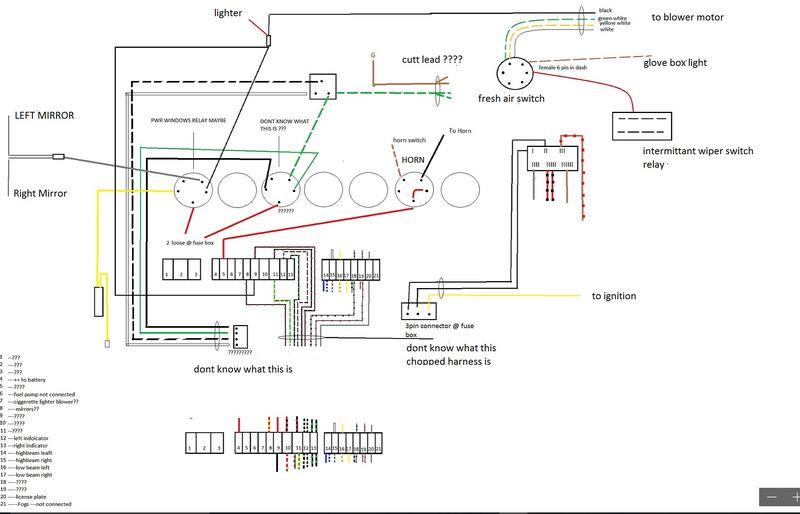 porsche wiring diagram braun millenium 2 wheelchair lift 911 horn data classic 1966 harness