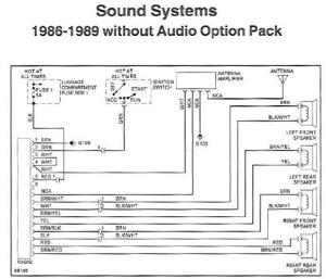 Radio Wiring Diagram or Chart?  1989 32L Targa  Pelican