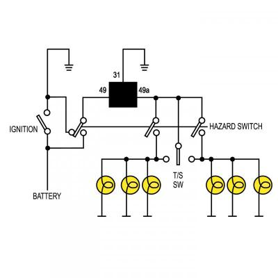 3 Pin Led Flasher Relay Wiring Diagram 3-Pin Plug Wiring