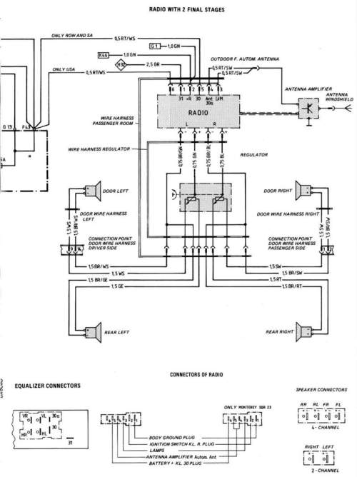 small resolution of 1980 porsche 928 wiring diagram