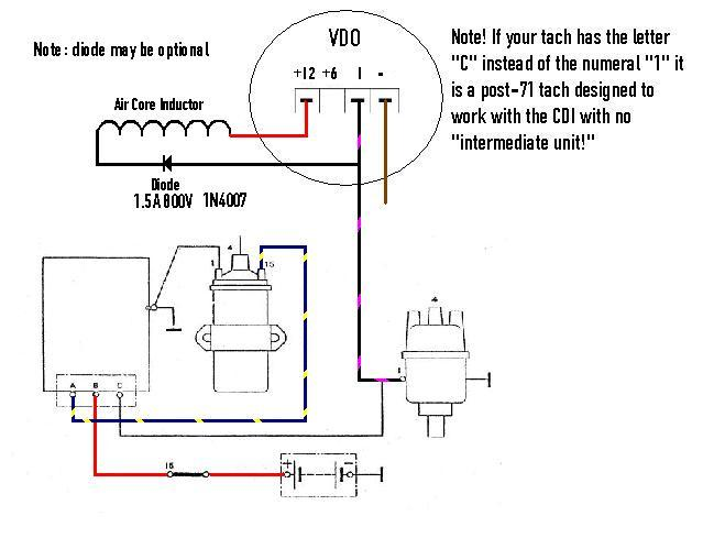 tachometer wiring diagram 120v photocell vdo tach schematic www toyskids co msd install questions pelican parts forums