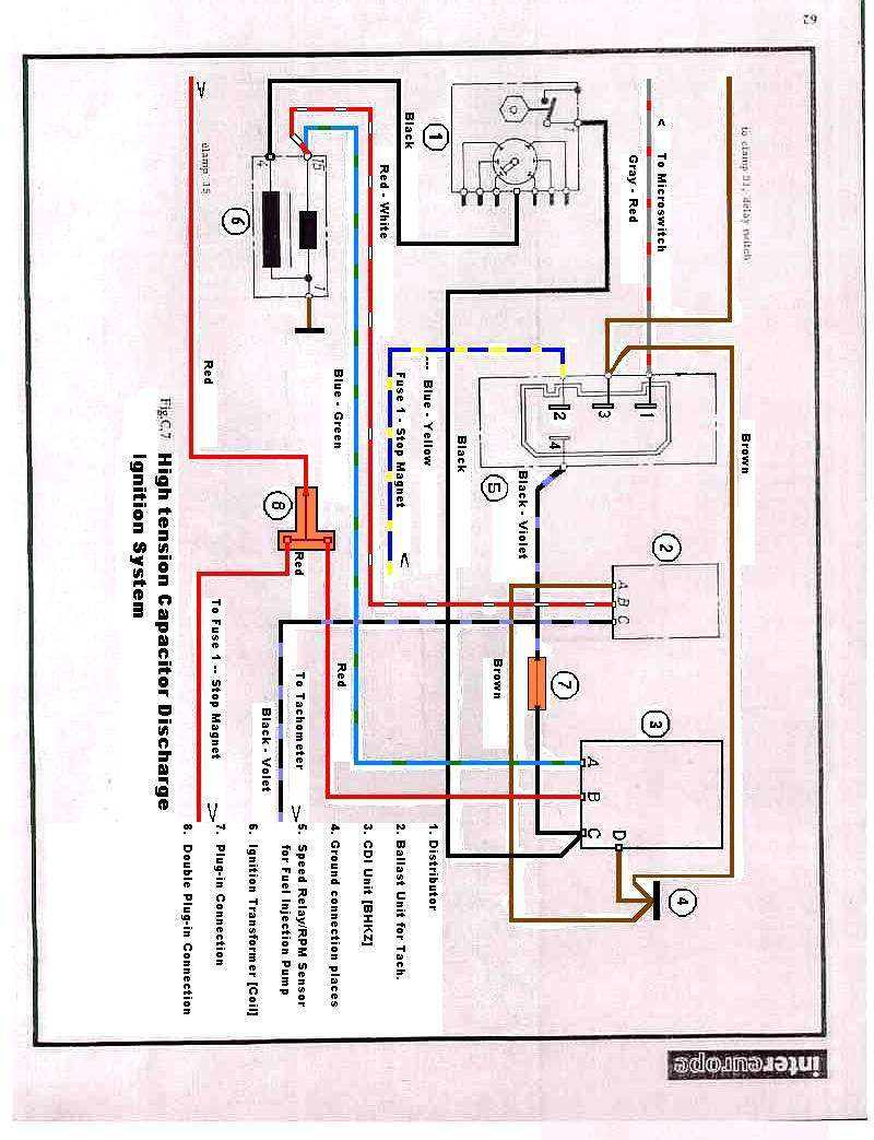 porsche 911 carrera wiring diagram for a honeywell digital thermostat tach - oh woe (pre '74) pelican parts technical bbs